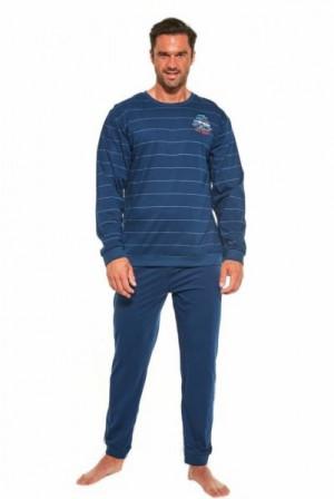 Cornette 308/176 Follow Me 2 Pánské pyžamo S tmavě modrá