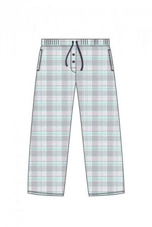 Cornette 690/28 248901 Dámské pyžamové kalhoty S Mocca