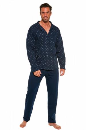 Cornette 114/51 244602 Pánské pyžamo M tmavě modrá