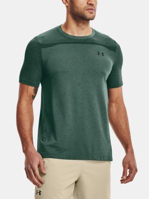 Under Armour zelené pánské tričko UA Seamless