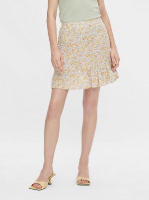 Pieces barevná sukně Miko