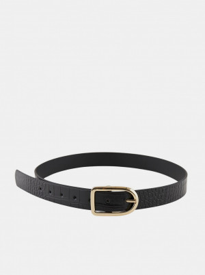 Pieces černý pásek Artis -