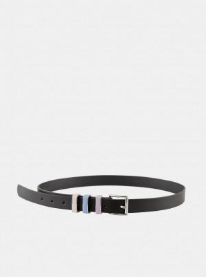 Pieces černý pásek Thea -