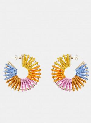 Pieces barevné náušnice Tivola