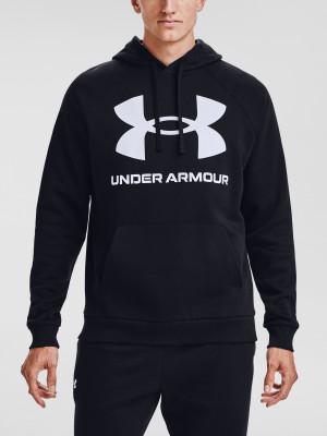 Under Armour pánská mikina UA Rival Fleece Big Logo HD-BLK s logem