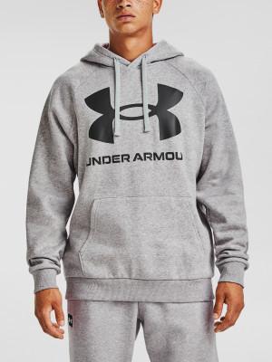 Under Armour pánská mikina Rival Fleece Big Logo HD-GRY