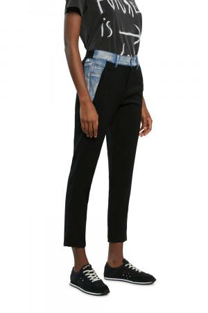 Desigual černé kalhoty Pant Cameron
