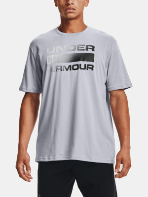 Under Armour pánské tričko TEAM ISSUE WORDMARK SS-GRY