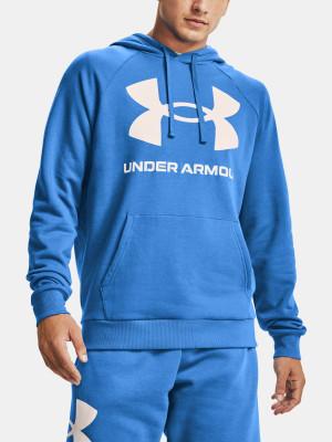 Under Armour pánská mikina Rival Fleece Big Logo HD-BLU