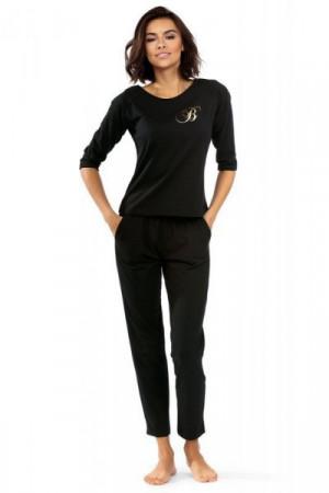 Lorin P-1507 Dámské pyžamo 34 černá
