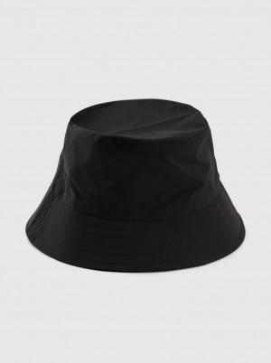 Pieces černý klobouk Tomma - ONE SIZE
