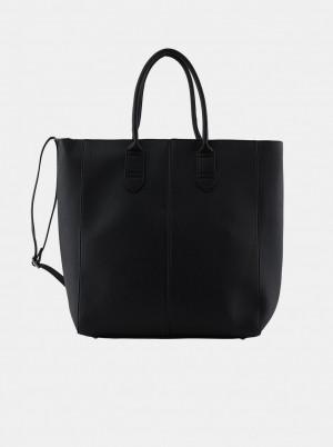 Pieces černý shopper Tilo