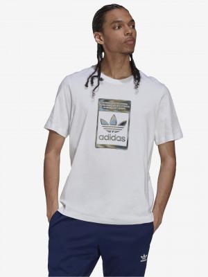 Camo Tee Triko adidas Originals Bílá