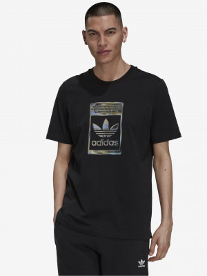 Camo Tee Triko adidas Originals Černá
