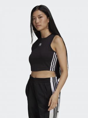 Crop top adidas Originals Černá