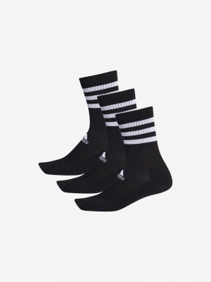 Ponožky 3 páry adidas Performance Černá