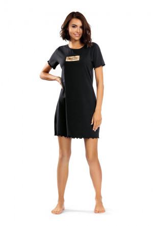 Dámská noční košile P-1505 Černá
