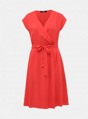 ZOOT červené společenské šaty Vera