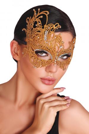 Maska na oči Mask golden - LivCo CORSETTI FASHION zlatá Univerzální