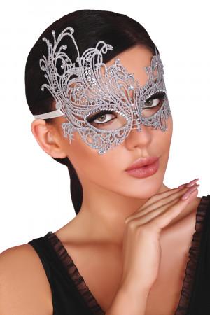 Maska na oči Mask silver - LivCo CORSETTI FASHION stříbná Univerzální