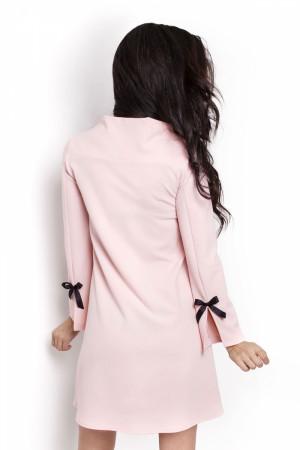 Dámské šaty Natalie 199 - IVON pudrovo-růžová