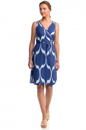 Dámké šaty 14485 - Vamp tmavě modrá - vzor