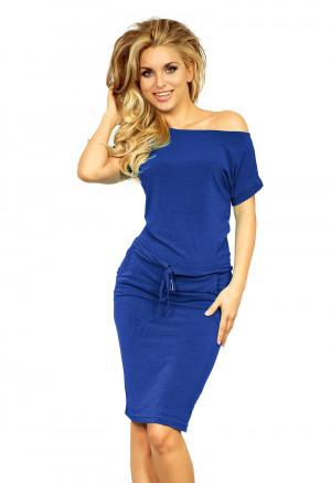 Dámské šaty 139-3 - NUMOCO královská modrá