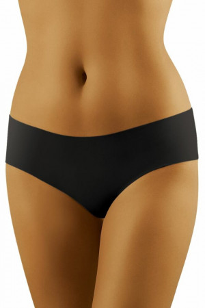 Dámské bezešvé kalhotky ECO-EL černé černá
