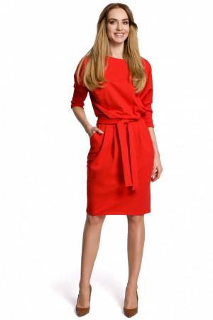 Dámské šaty M369 - Moe červená
