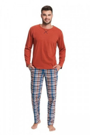 Luna 700 Pánské pyžamo M modrá