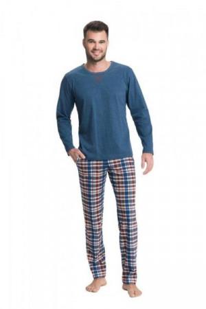 Luna 700 3XL Pánské pyžamo 3XL modrá