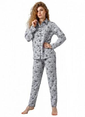Laveza Marietta 1098 Dámské pyžamo M světle šedá