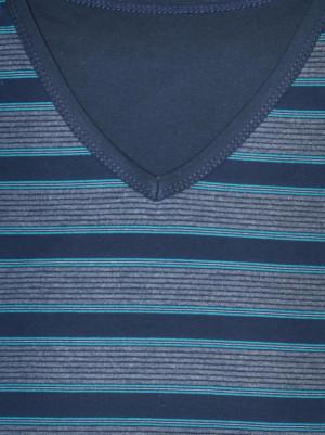 Pánské pyžamo Various 330/09 - Cornette tmavě modrá/proužky