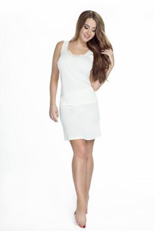 Dámská košilka 80919 KARINA - Mewa bílá
