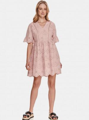 TOP SECRET pudrové šaty s madeirou