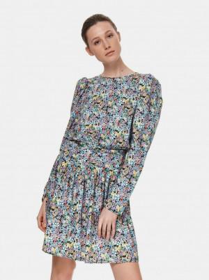 TOP SECRET barevné květované šaty