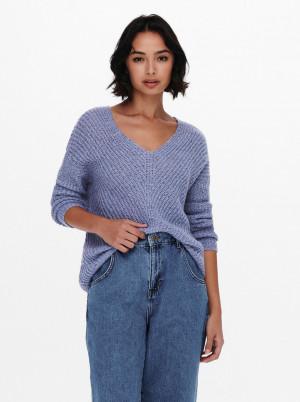 Jacqueline de Yong fialový svetr Megan