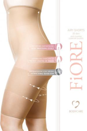 Dámské šortky proti tření stehen Fiore Airy Shorts 20 DEN nude 5/6-xl/2xl