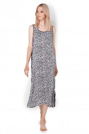 Dámské pyžamo 196 - YI2622474 černo/bílá - DKNY černo - bílá
