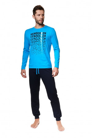 Pánské pyžamo Henderson 39247 dł/r Alien M-2XL blue