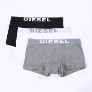 Pánské boxerky Korythreepack 00CKY3-0NTGA 3pack - Diesel černá/červená/šedá