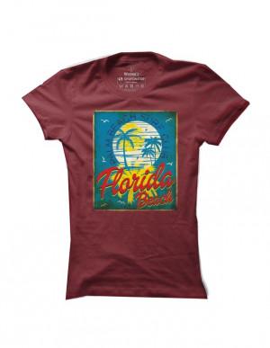 Surfové tričko Florida Beach pro ženy