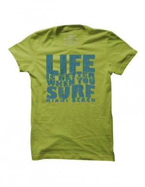 Surfové tričko Surf Better Life pro muže