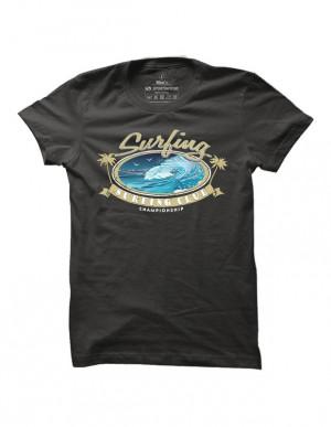 Surfové tričko Surfing Club Championship pro muže