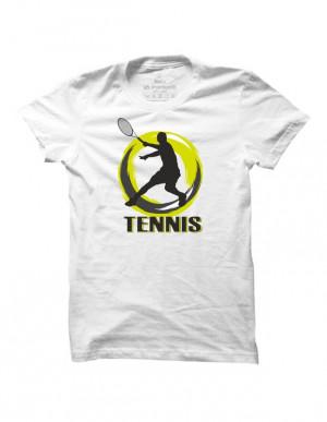 Tenisové tričko Tennis Silhouette pro muže