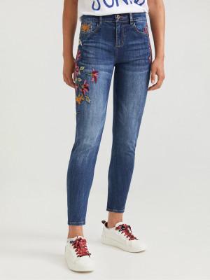 Luisia Jeans Desigual Modrá