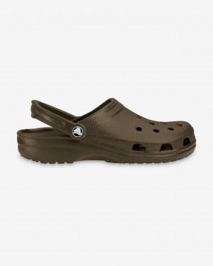 Crocs hnědé pánské boty Classic - 41-42