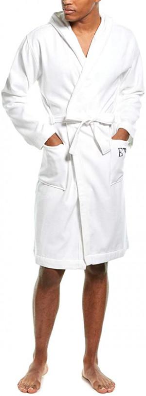 Pánský župan 110799 8A590 00010 bílá - Emporio Armani bílá