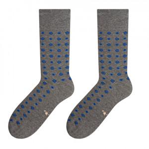 Pánské ponožky MORE 051 - Výprodej MELANGE SZARY 39/42
