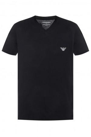 Pánské tričko 111341 9P511 černá - Emporio Armani černá